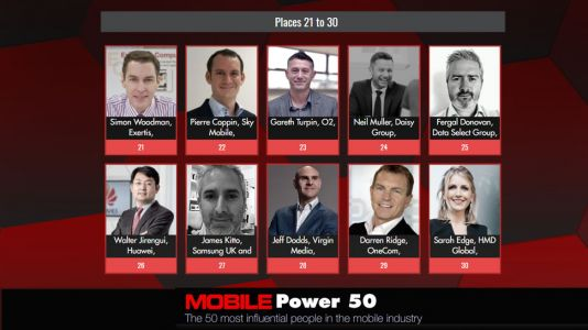 Mobile Power 50 - 30 to 21 official rankings announced