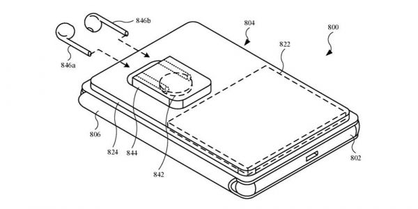 Apple patent shows a MagSafe battery case that can charge an iPhone and AirPods