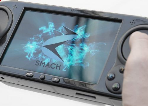 Smach Z Handheld PC Games Console Will Be Powered By AMD Ryzen Embedded V1000 Processor