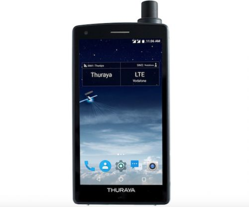Thuraya X5-Touch Is The World's First Satellite Smartphone