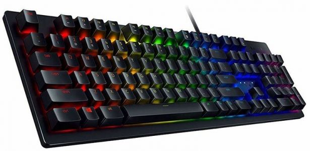 Get ahead of the competition with the Razer Huntsman Gaming Keyboard