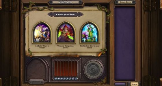 Hearthstone's Year of the Raven isn't bringing any changes to Arena. yet