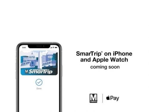 Apple Pay is coming to the Washington D.C. Metro in 2020