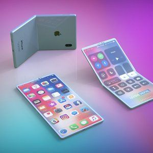 This is what Apple's foldable smartphone could look like