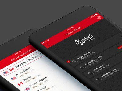 Set up a secure, second phone number with Hushed for just $25