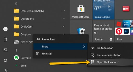 How To Access The Windows 10 Startup Folder