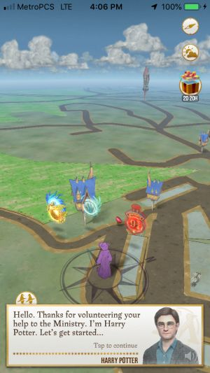 Wizards Unite is a bloated, slow, Harry Potter-ified Pokémon Go