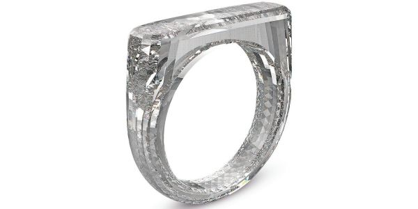 Jony Ive's latest design is the ultimate diamond ring - made only of diamond