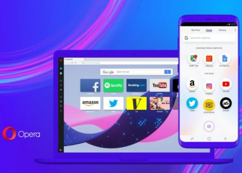 Opera Touch Mobile Browser Launches