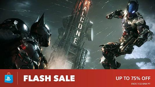 Surprise Mid-Week PSN Flash Sale Live Now