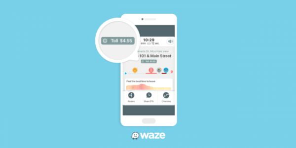 Waze Starts Showing Toll Prices After Latest Update