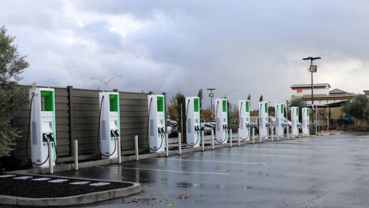 California Gets The Nation's Fastest Electric Vehicle Chargers