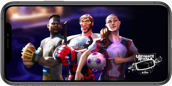 Apple Adds 'Ultimate Rivals' Sports Game Franchise to Apple Arcade