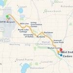 Apple Maps transit coverage now includes Dallas-Fort Worth and San Antonio