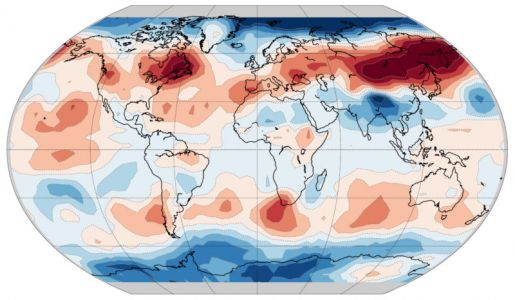 """""""Fingerprint"""" of humanity's climate impact seen in the seasons"""