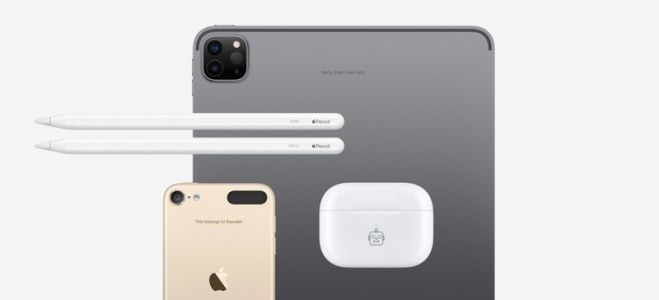 Apple adds engraving for AirPods, Apple Pencil, iPad, iPod touch in India