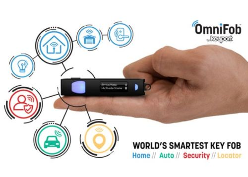 OmniFob smart remote allows you to create shortcuts IoT devices, apps and more