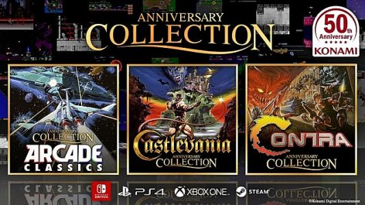 Konami Whips Up Hardcore Classic Collections for 50th Anniversary