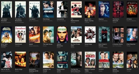 The latest iTunes sale is offering a ton of amazing Keanu Reeves movies