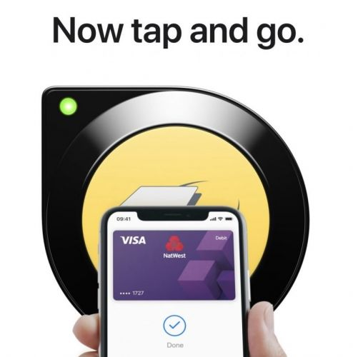 Apple Pay's Tap-and-Go Express Transit Mode Now Live in London, Advertised on MetroCards in NYC