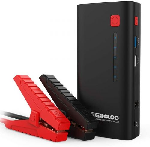 Charge it with these GOOLOO car jump starter kits