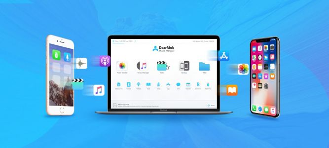 Backup & restore apps & data selectively w/ Dearmob iPhone Manager, free for iOS 12