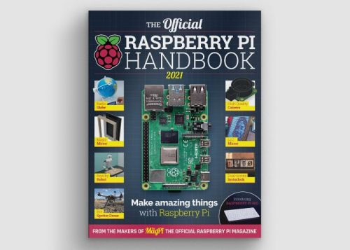 Official Raspberry Pi Handbook 2021 now available