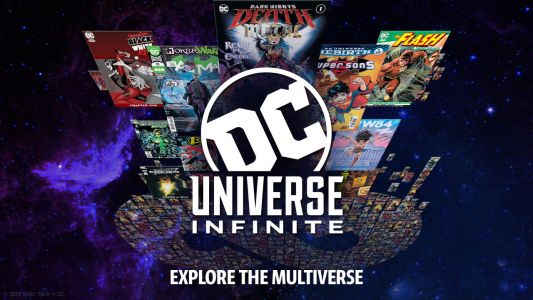DC Universe Infinite is a $7.99/mo comic subscription service