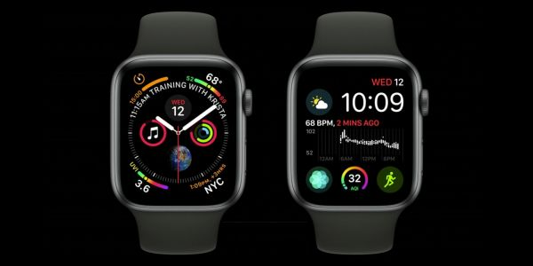 New Apple Watch Series 4 complications for 'Infograph' face: corner gauges, curved bezel text, more
