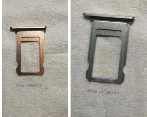 Alleged 'iPhone 8' Sim Tray Images Again Depict Copper-Like Gold Color