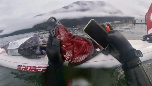 This working iPhone 11 was fished from a lake after taking 6-month swim