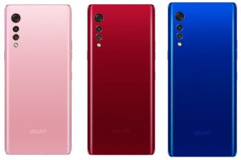 The 5G-enabled LG Velvet now available in three new colors