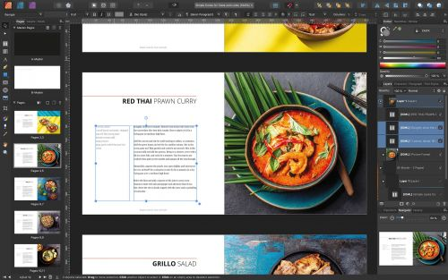 Affinity Publisher for Mac Gains IDML Import, Preflight Checking, Template Support, and More