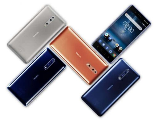 Nokia 8 Arrives To India With 4GB Of RAM, ZEISS Optics