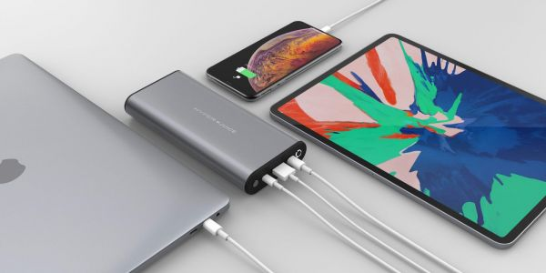 Hyper's 130W, 27000 mAh portable USB-C battery and 6-in-1 iPad Pro USB-C Hub now available