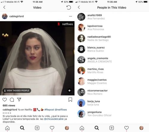 Instagram Tests Video Tagging Feature Among Select Users