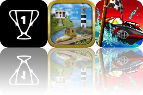 Today's Apps Gone Free: Visulax Golf, The Enchanted Books and Pixel Boat Rush