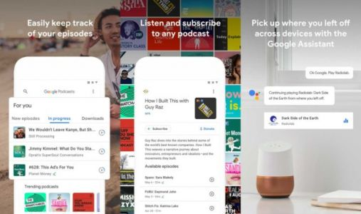Dedicated Google Podcasts App Launched For Android
