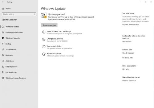 Microsoft Confirms New Windows 10 Update Issues