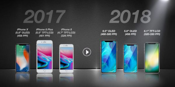 Apple files for 2018 iPhone lineup in Eurasian database ahead of fall release, two additional iPad models