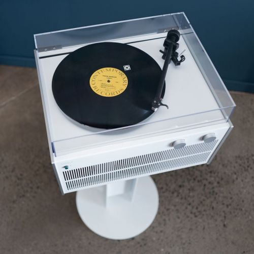 Symbol Modern Record Player Is Stylish And Wireless