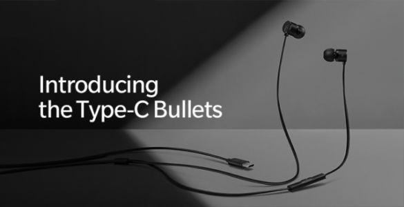 OnePlus Announces Affordable Type-C Bullets Earbuds
