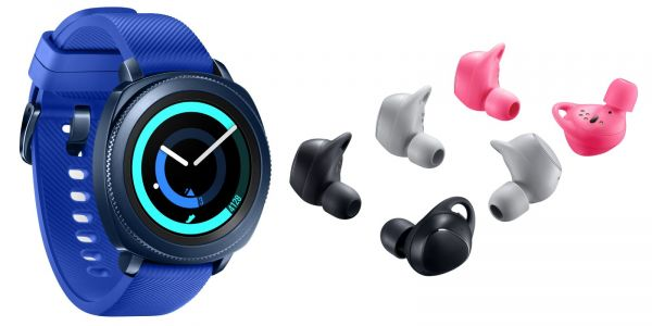 Samsung's Gear Sport smartwatch, IconX buds will be available from October 27th