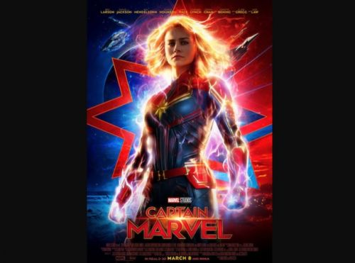 Marvel Releases Heroic New Poster for Captain Marvel