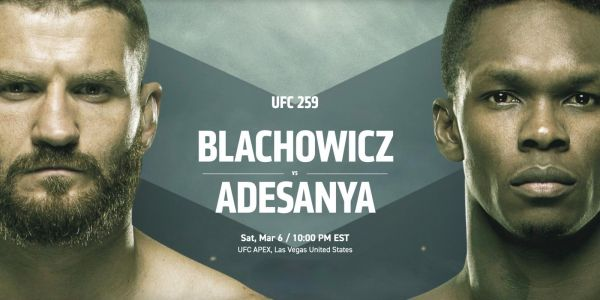 How to watch UFC 259 Blachowicz vs Adesanya on the web, iPhone, Apple TV, more
