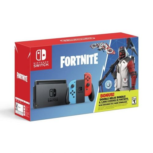 Fuel your Fortnite fire with the new Nintendo Switch Double Helix bundle
