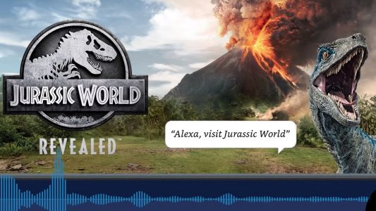 Jurassic World Revealed is an audio game you can play with Amazon Alexa
