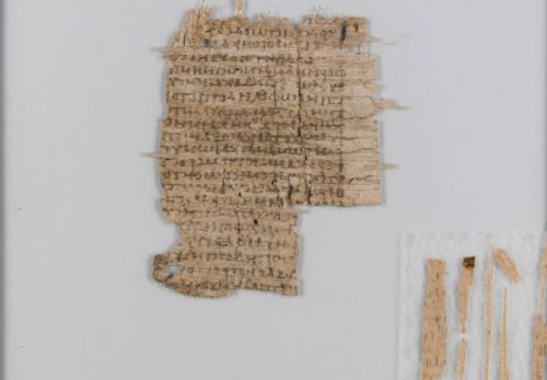After 500 years, a UV lamp solves the mystery of the Basel Papyrus