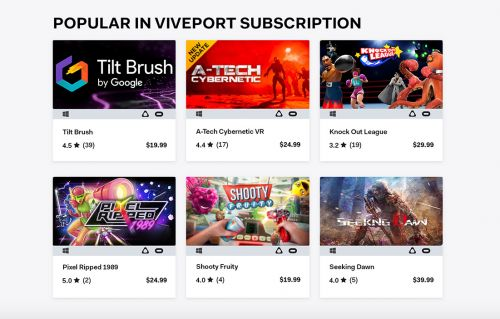Oculus Rift Support Features Added For Viveport Developers