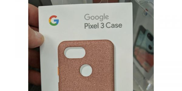 Official Pixel 3 fabric case already shows up at retail store in new pink color